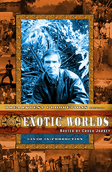 Click for Larger Image of Chuck Jonkey's Exotic Worlds Poster